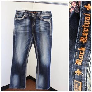 Rock Revival Roza Easy Boot Stitched Jeans